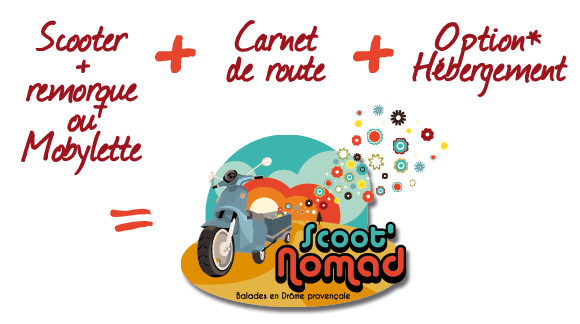 Scoot'Nomad : concept innovant, unique en France