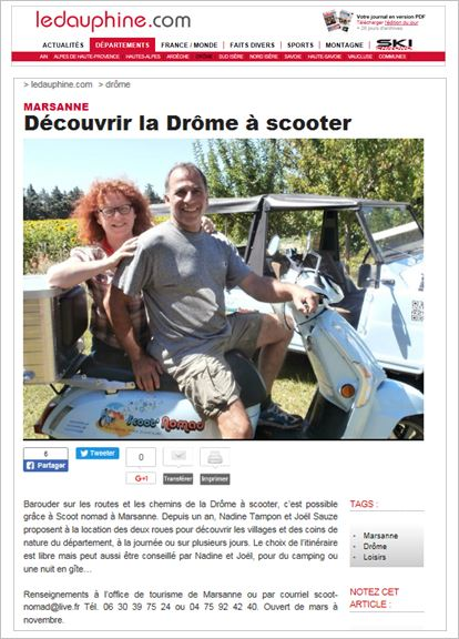 provence à scooter